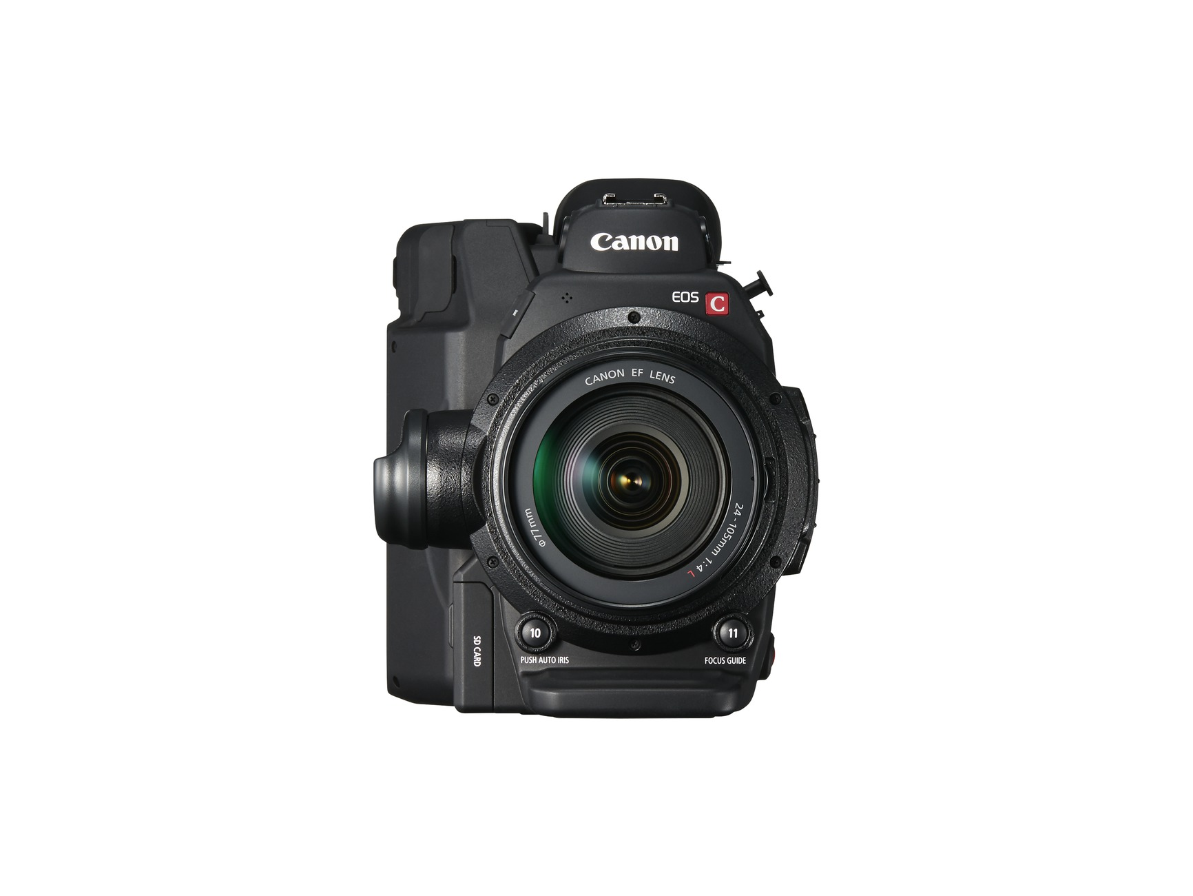 New Canon EOS C300 Mark II with 24 to 105