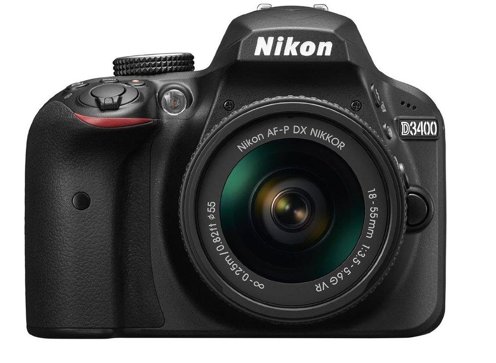 Nikon D3400 $646.95