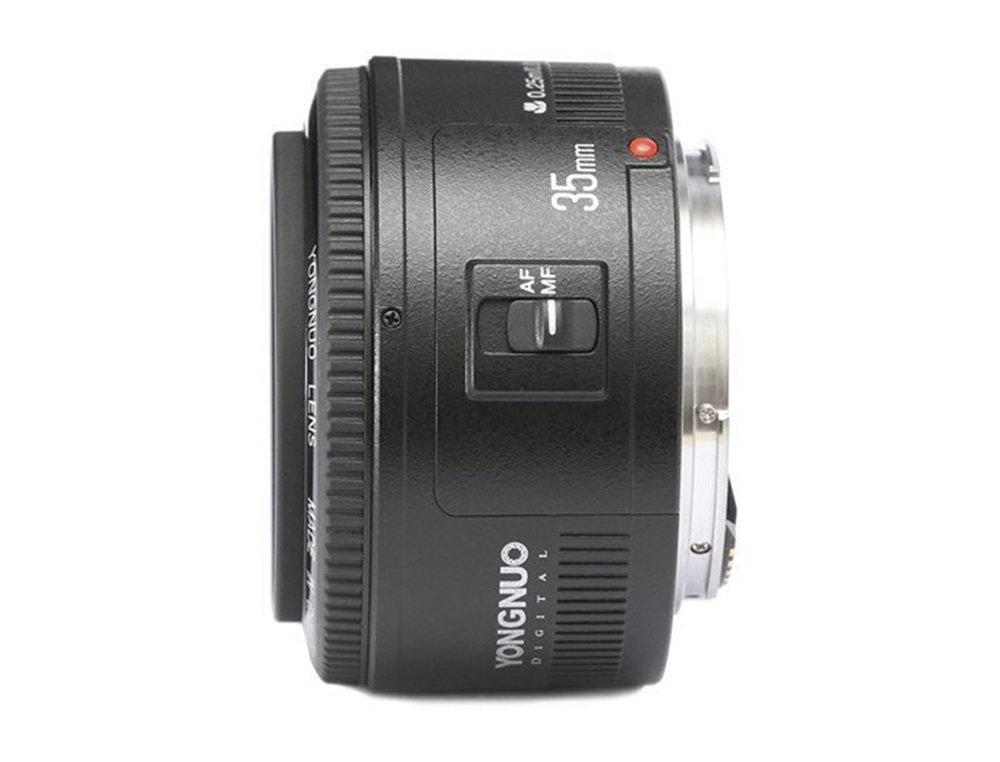 Budget Yongnuo 35mm f2 AF Cameraplex