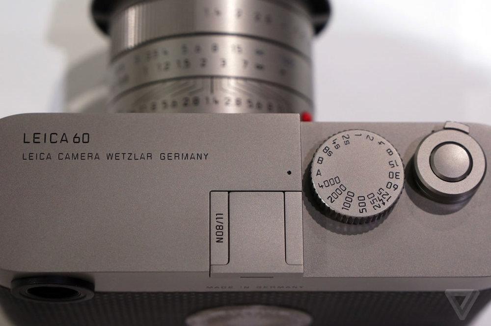 Leica M Edition 60 Shutter Luxury Cameras Cameraplex