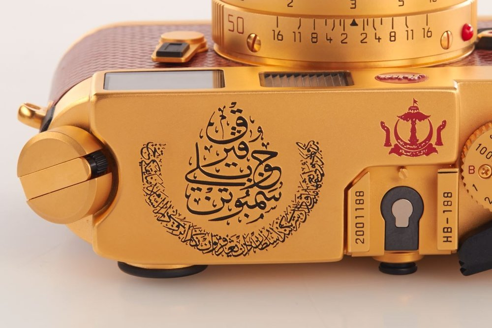 Leica M6 Gold Sultan of Brunei Luxury Cameras Cameraplex