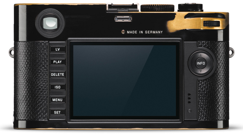 enny Kravitz x Leica MP Type 240 Screen Luxury Cameras Cameraplex