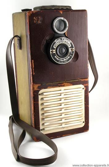 Automatic Radio Mfg Tom Thum Radio Camera, strangest cameras