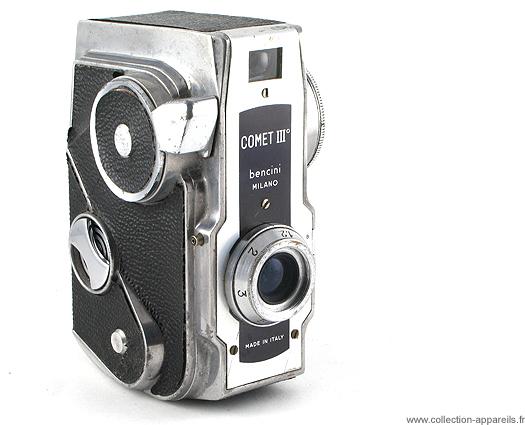Bencini Comet III Cameraplex, strangest cameras