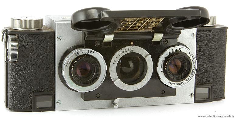 David White Stereo Realist (model 1041) Cameraplex, strangest cameras