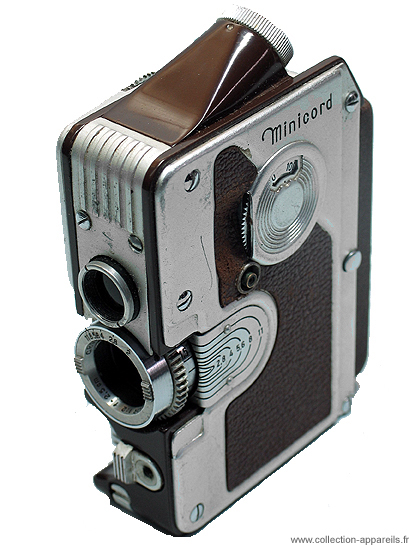 Goerz Autriche Minicord III, strangest cameras