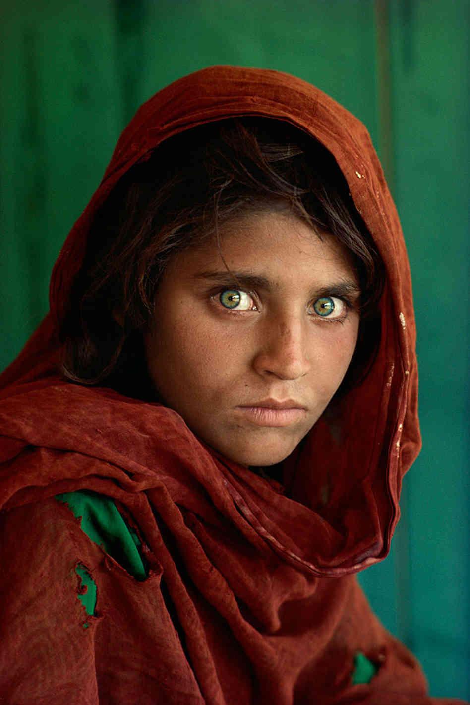 Afghan Girl Nikon Cameraplex