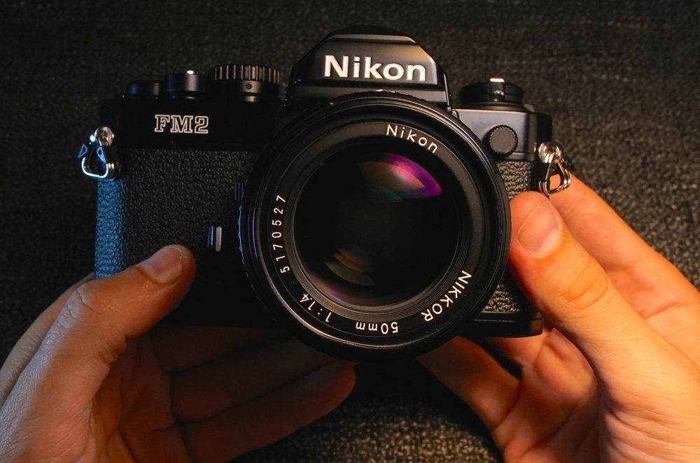 Nikon FM2. Copyright © 2015 Cameraplex