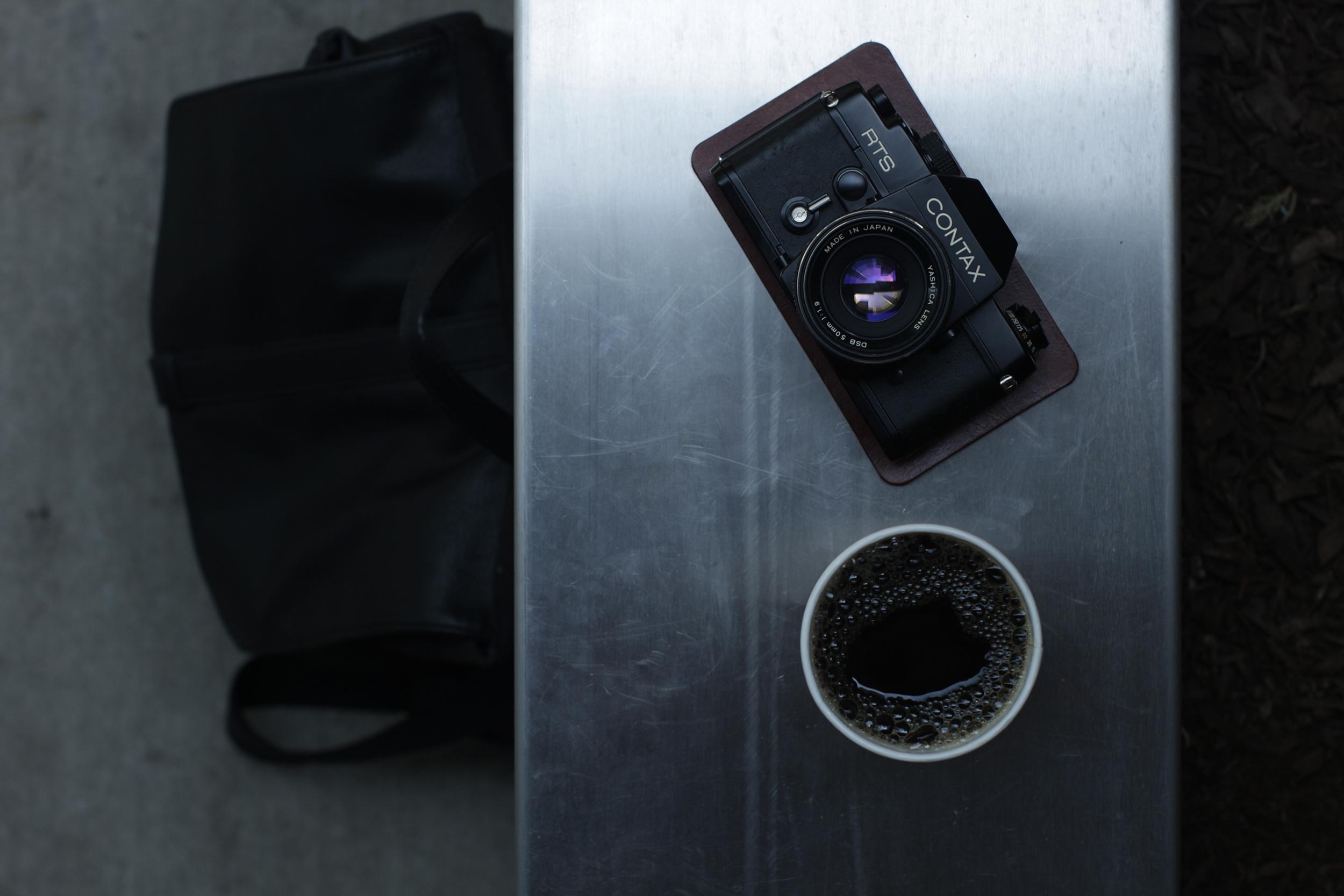 gear mat leather camera phone pad