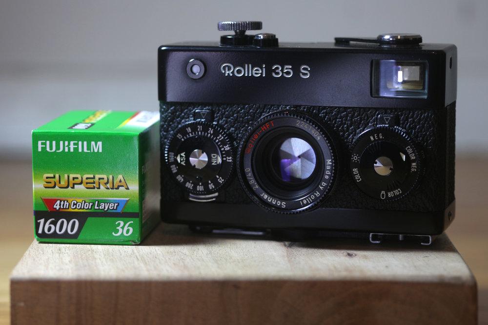 Fuji Superia 1600 Rolei 35 S Cameraville