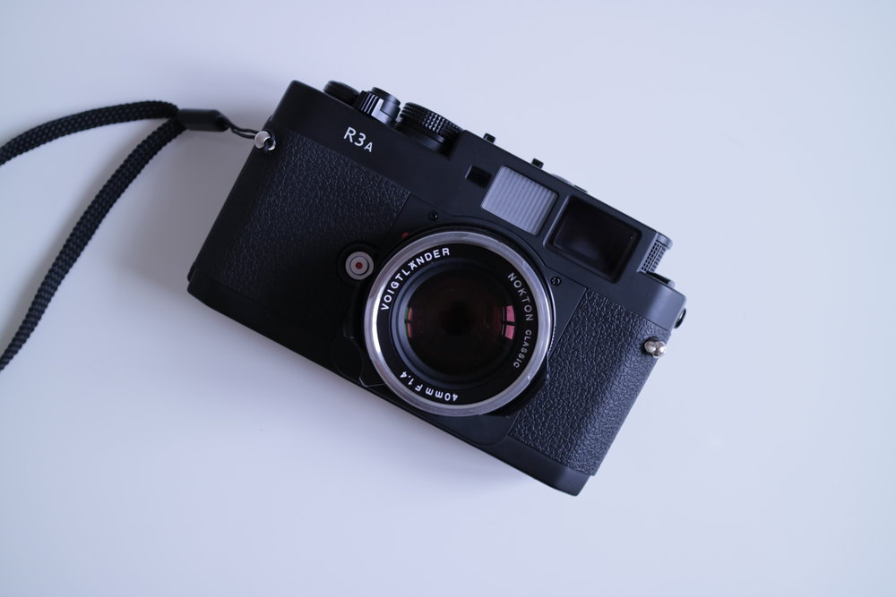 "The frame size of this normal 35mm film camera is the size in which the term ""Full Frame"" is based."