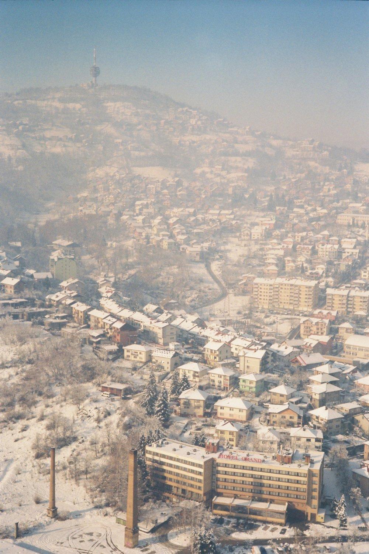 Sarajevo, Bosnia and Herzegovina   Voigtländer Bessa R4M