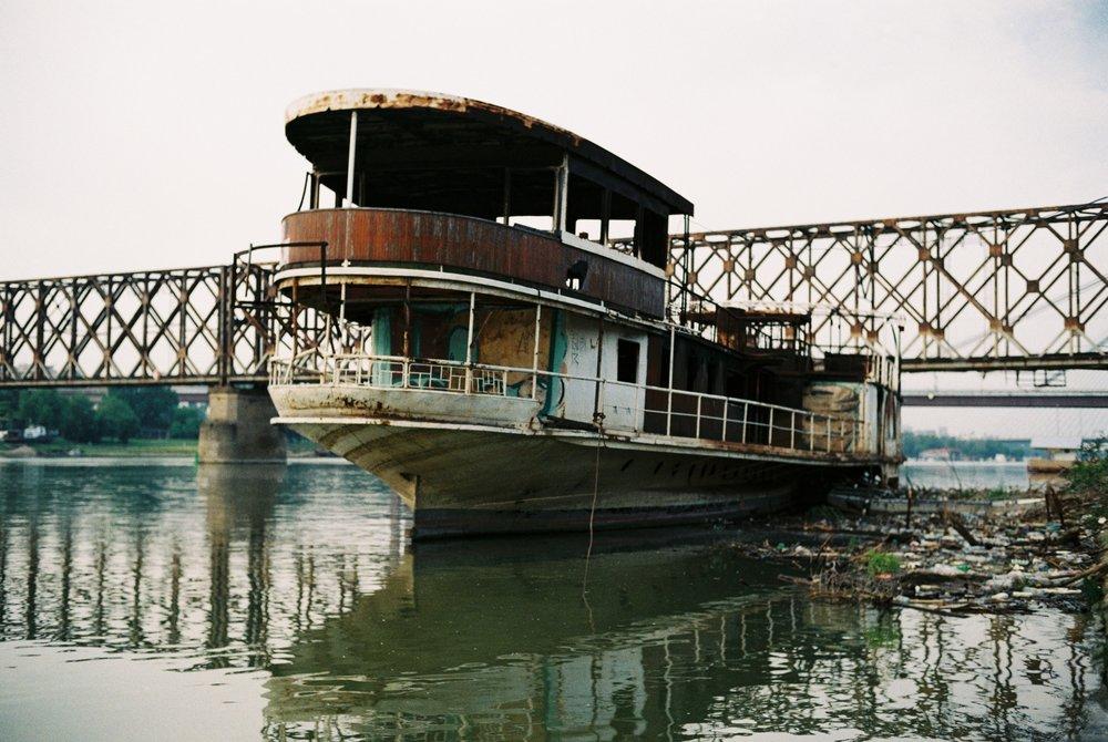 Abandoned Boat - Summer, 2017