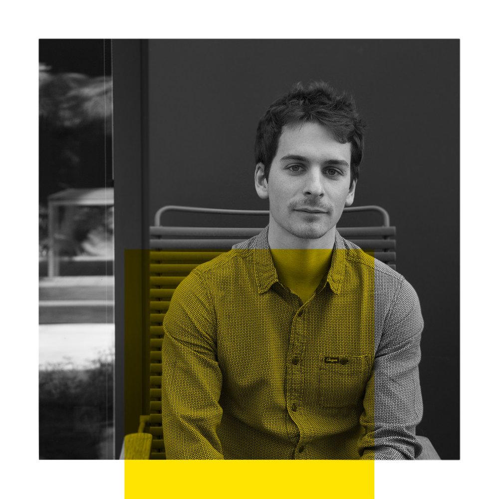 Antoine Puig - Le réaliste  Antoine revient de loin : diplômé d'HEC, il a vu dans Design Act ! un moyen de découvrir la méthode design – si différente dans son expérience des méthodes enseignées en classe prépa et en grande école. L'année prochaine, il continuera son parcours au mastère Innovation & Design de Strate.
