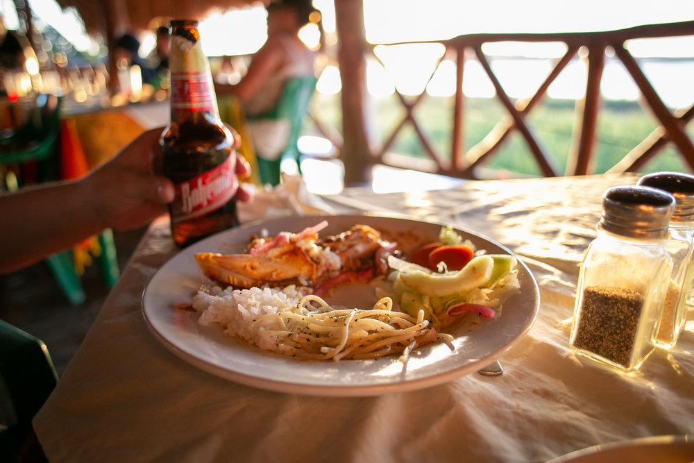 Dinner at Coba (Fig 4)