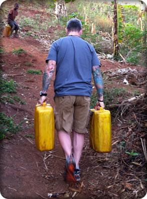ABOVE:    Serving a village in Uganda, Africa