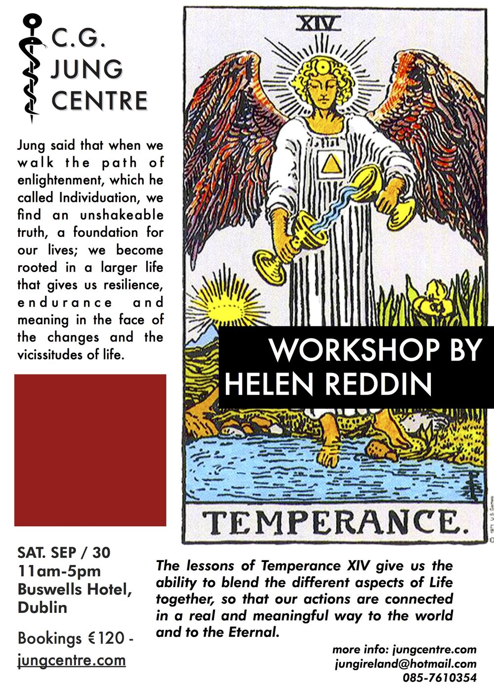 Temperance Tarot workshop