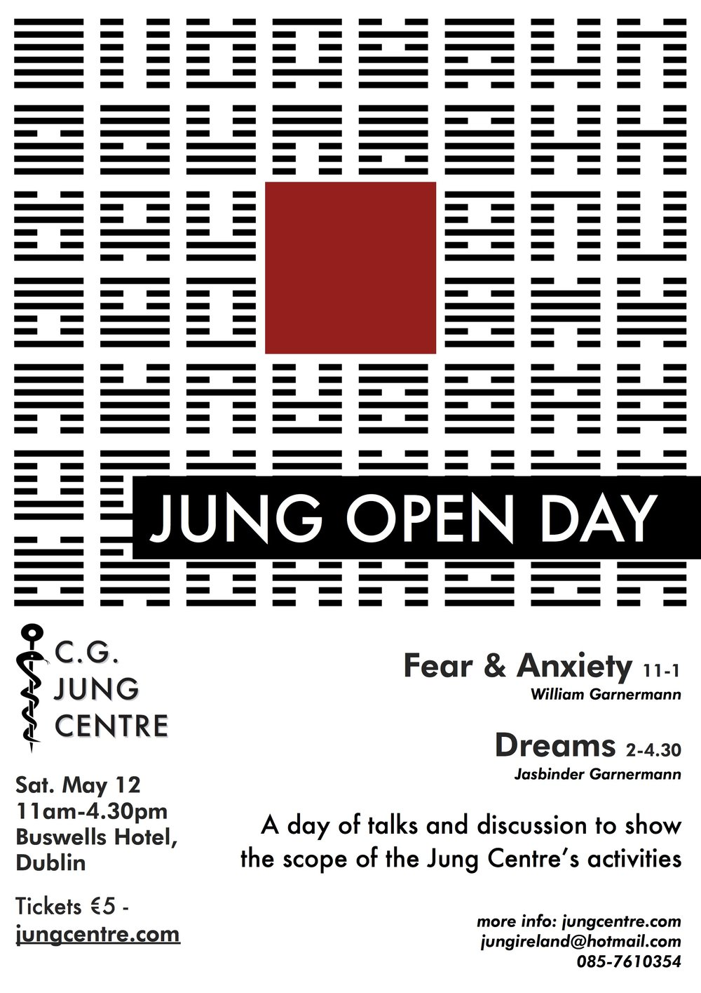 jung centre open day may 2018