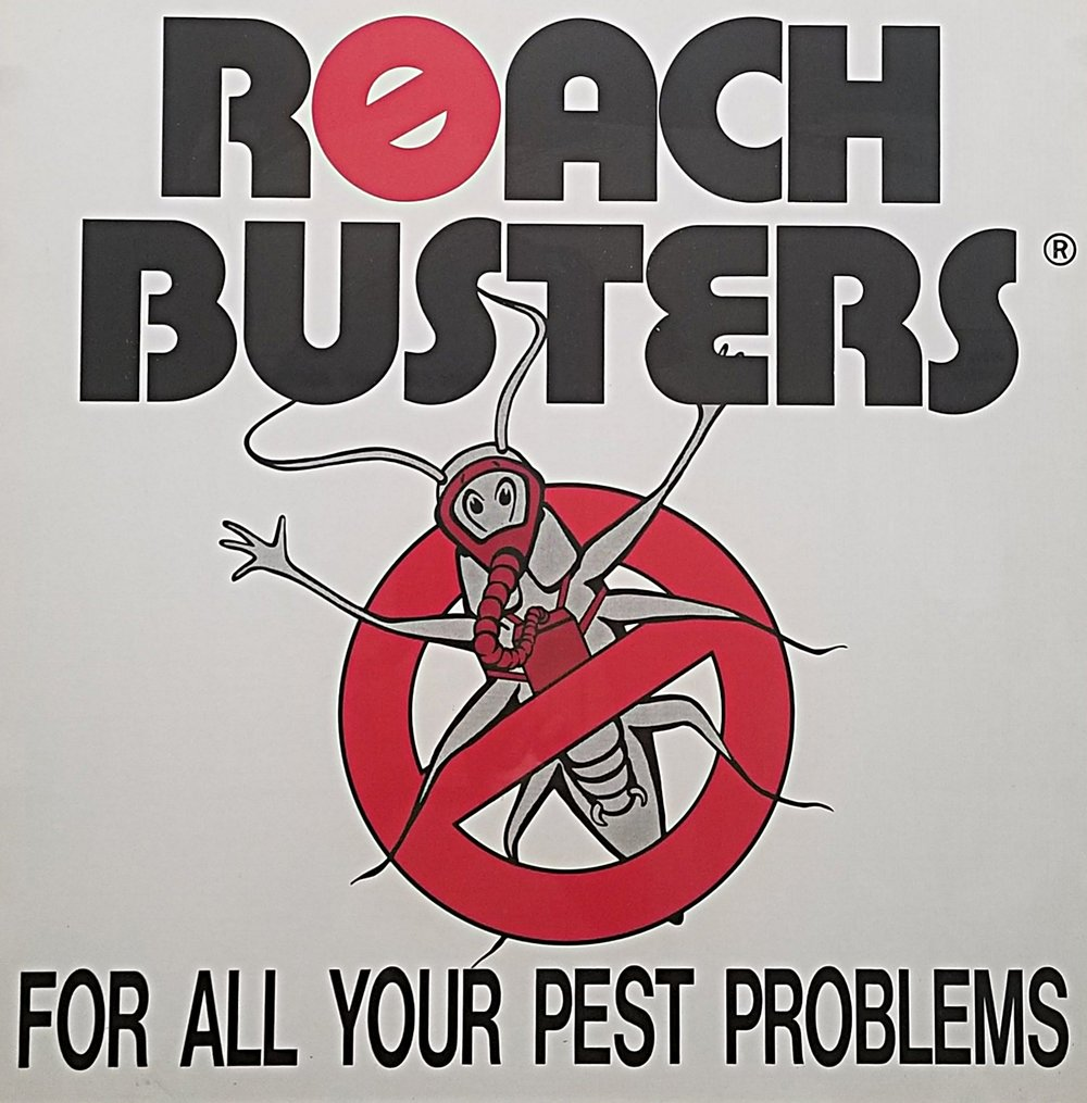 This is a picture of one of our original Roach Busters posters!
