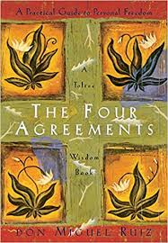 Don Miguel Ruiz shines a light on the self-limiting beliefs that steal our joy. In this book, he explores the Four agreements: Be impeccable with your word. Don't take anything personally. Don't make assumptions. Always do your best.