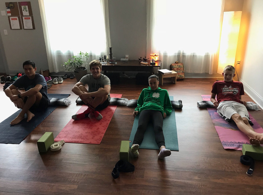 Yoga for Athletes at Studio5 Yoga