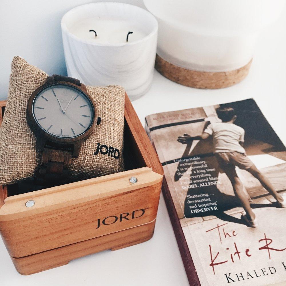 JORD Frankie Koa & Ash Watch