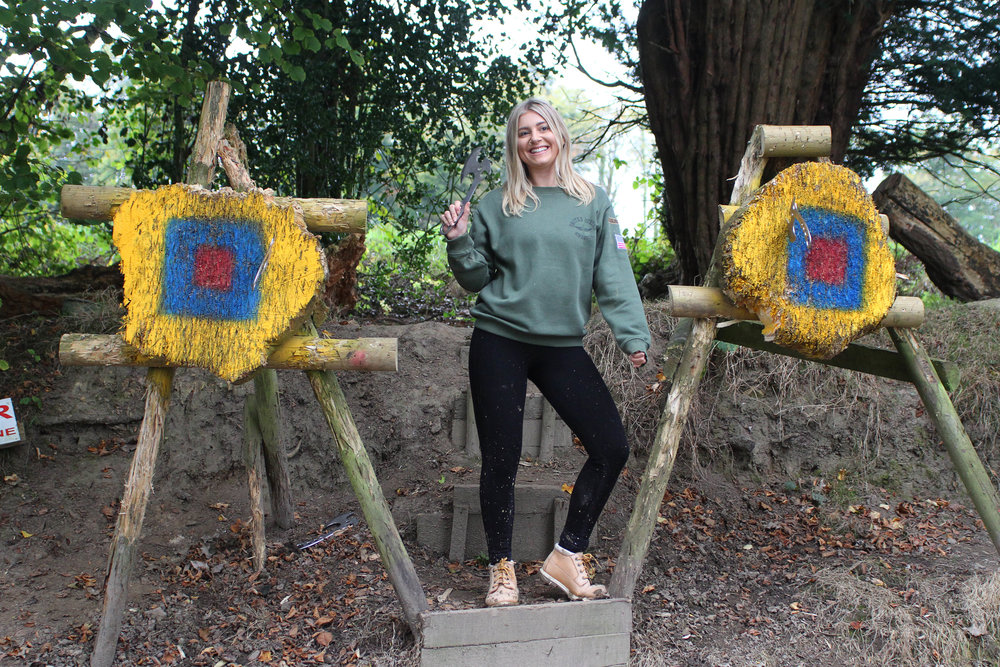 Southern Pursuits Axe Throwing