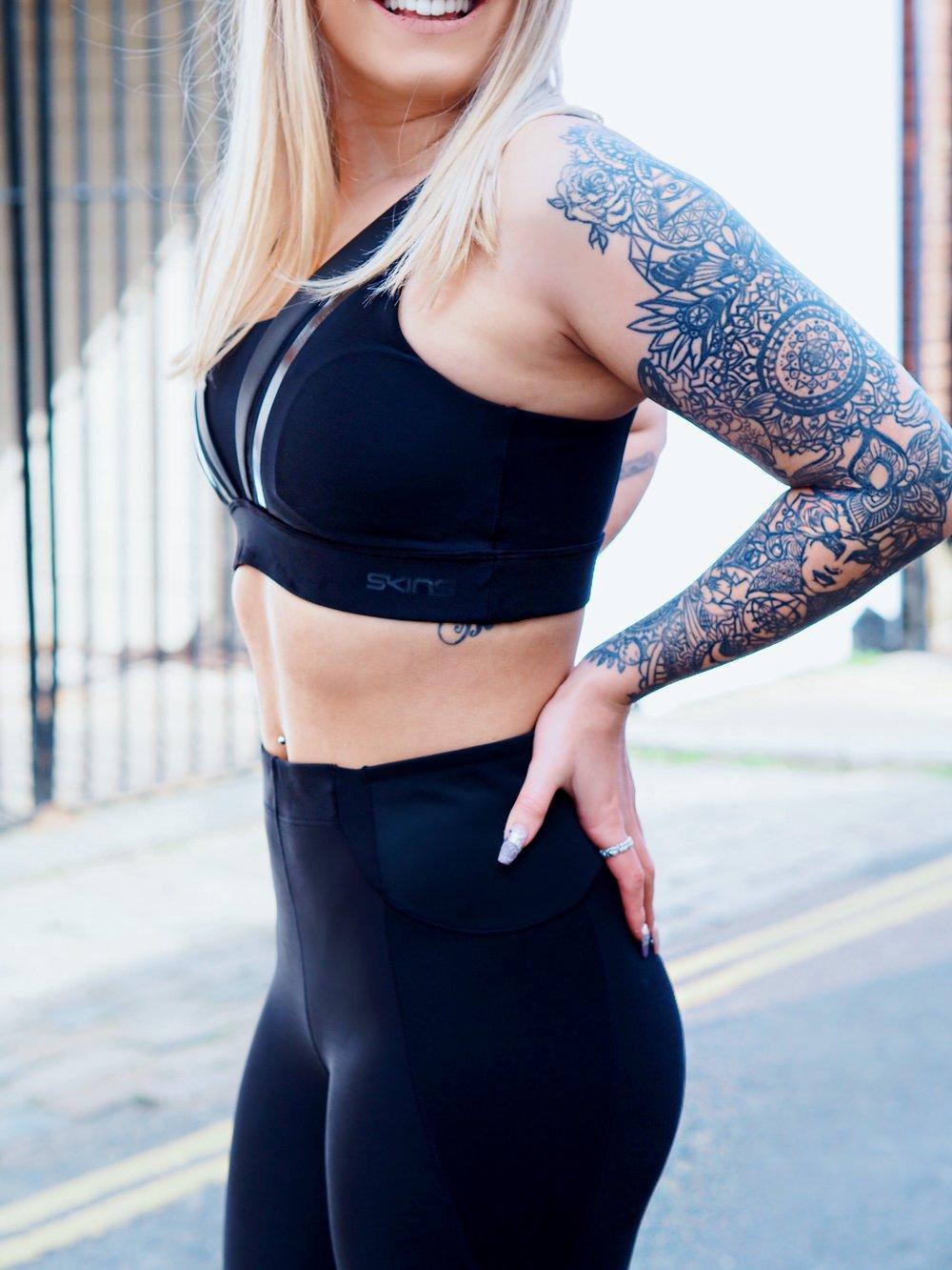 SKINS Sportswear Brighton Fitness Blogger