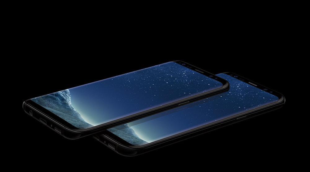 Samsung's undeniably gorgeous S8 & S8 Edge displays.