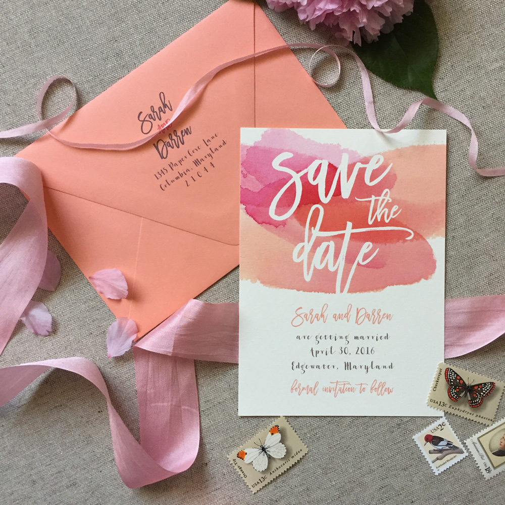 5 Tips For Sending Out Your Save The Dates Lattice Tree Studio