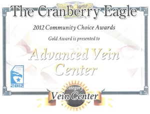 Community Choice Award Advanced vein institute. Community Choice Award Advanced vein institute.