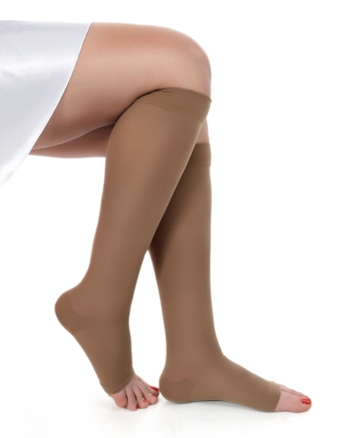 If you have varicose veins in Beaver County, we can help you get Compression stockings to relieve your pain and symptoms of varicose veins and swollen legs!     Symptoms of venous insufficiency:   Swollen achey legs  night cramps  charlie horses  broken blood vessels  tired legs    40% of the population has symptoms of vein disease. This vein reflux occurs when the valves are damaged and allow blood to flow backward, because of gravity.This backward flow of blood allows swelling to start at the ankles, and if left untreated, work it way up the legs.  Compression stockings can help stabilize this process, or at least slow it down and lessen symptoms.  HOW COMPRESSION STOCKINGS WORK  Why you should use compression stockings  If you sit or stand for long periods of time on your job, or if you are pregnant, you should wear compression socks, at least to the knee. These elastic hose will reinforce your damaged valves and BROKEN VESSELS IN YOUR LEGS AND DECREASE THE BLOOD THAT LEAKS OUT OF THEM WHEN THEY ARE SWOLLEN. THIS LEAKING BLOOD STAINS THE LEGS AND CAUSES THE SKIN TO BREAK DOWN INTO ULCERS.  Stocking should be applied immediately upon waking up in the morning; before you even step out of bed to go to the bathroom. This is when legs are the smallest and they are the easiest to put on. A donner is a device used by many whose hands are not strong enough to put on their own stockings at the  Advanced Vein Center in Beaver and Cranberry  we can get you a prescription for this device.  you should also sleep with your legs slightly elevated, possibly by putting a two by four under the mattress at the bottom of your bed. sleeping with your legs down in a chair will cause more problems  Always wear your stocking on long flights or car rides!  also getting up and taking short walks- even around your living room or office, each hour will help immensely.  STOCKING CARE  How to take care of compression stockings  Don't use a washing machine on your stockings if you don't have t