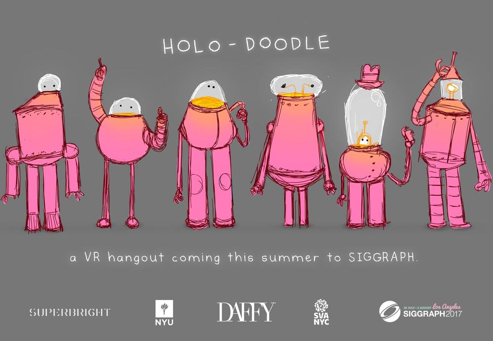 Meet The Holo-Doodles