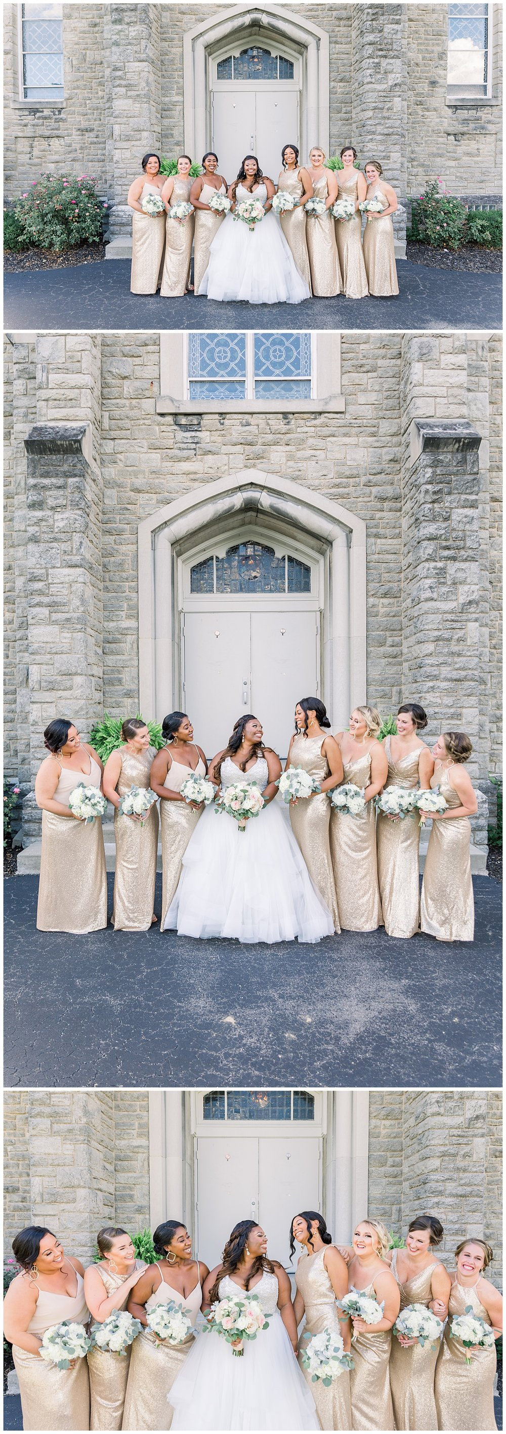 St. Aloysius Chapel the center downtown cincinnati wedding photographer ji cherir photography