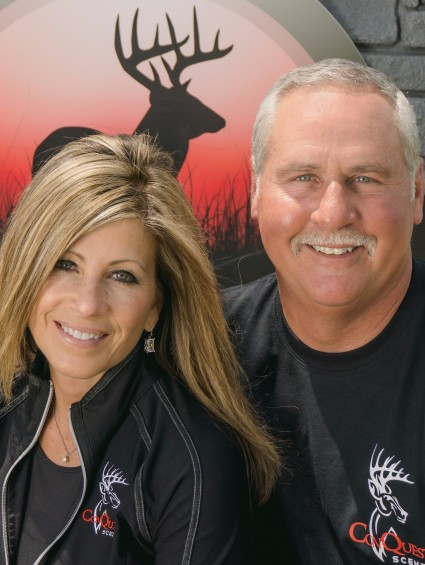 Doug and his wife, Karen, are the founders and owners of Conquest Scents.