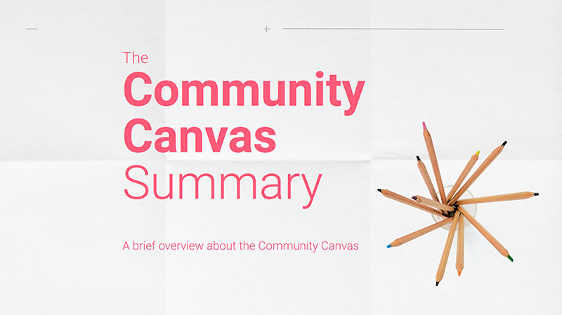 Community Canvas Summary