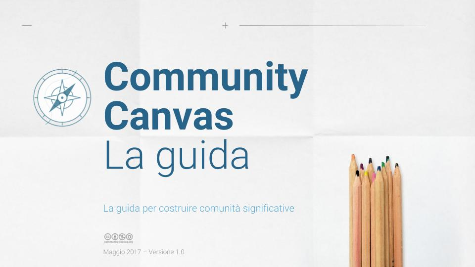 Community Canvas Guidebook