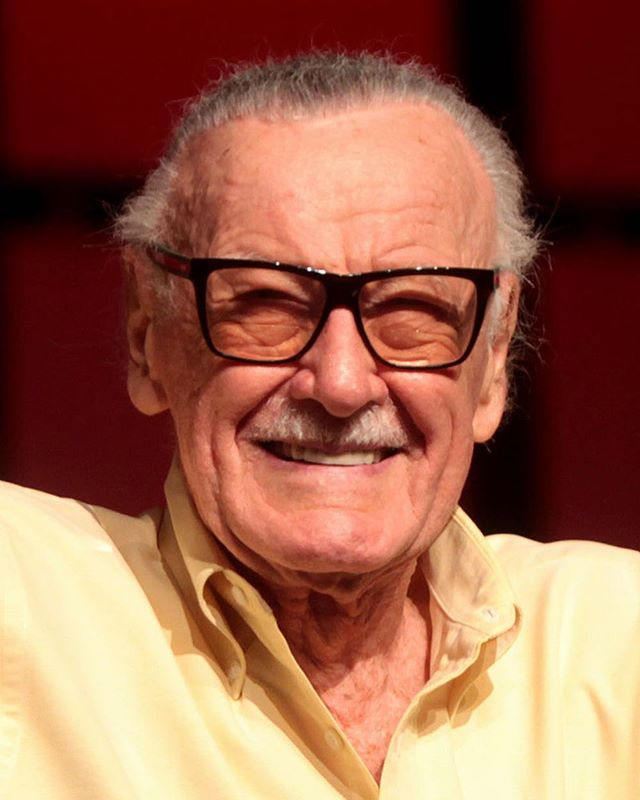 RIP in peace to the LEGEND, Stan Lee.