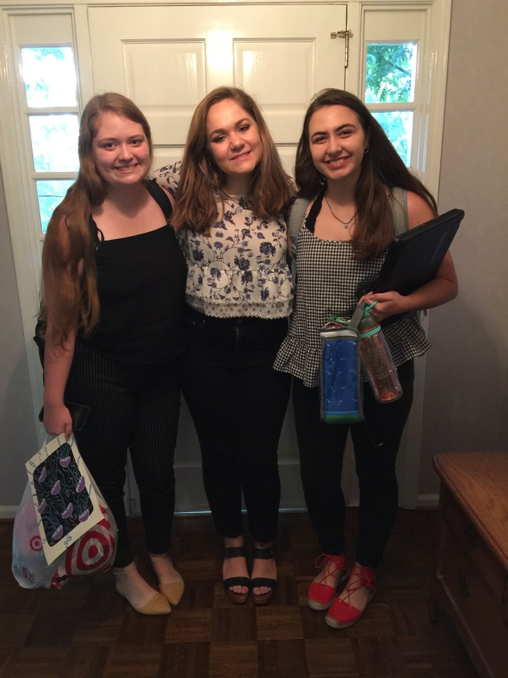 Annabelle, Anna and Kaytie.