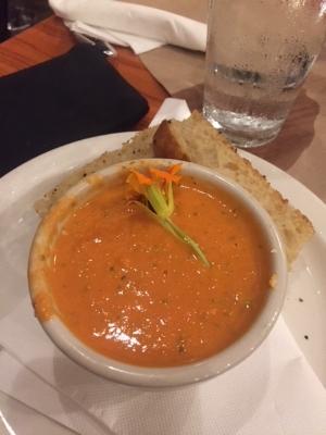 Sunny Point Cafe  Tomato Basil Soup.