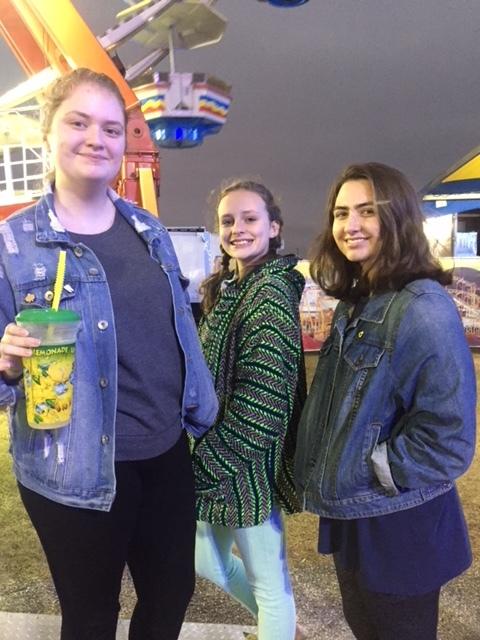 Annabelle, Haley and Kaytie.