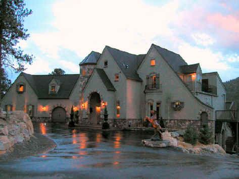 B&B's   / Above:  Arrowhead Manor Bed & Breakfast