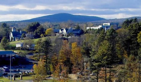 Mount Monadnock Overlooking Lakeside Franklin Pierce University