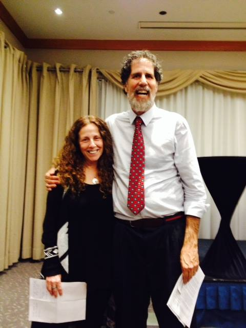 Rabbi Sherril with Arik Ascherman, founder of Rabbis for Human Rights and co-founder of the interfaith human rights organization Haqel
