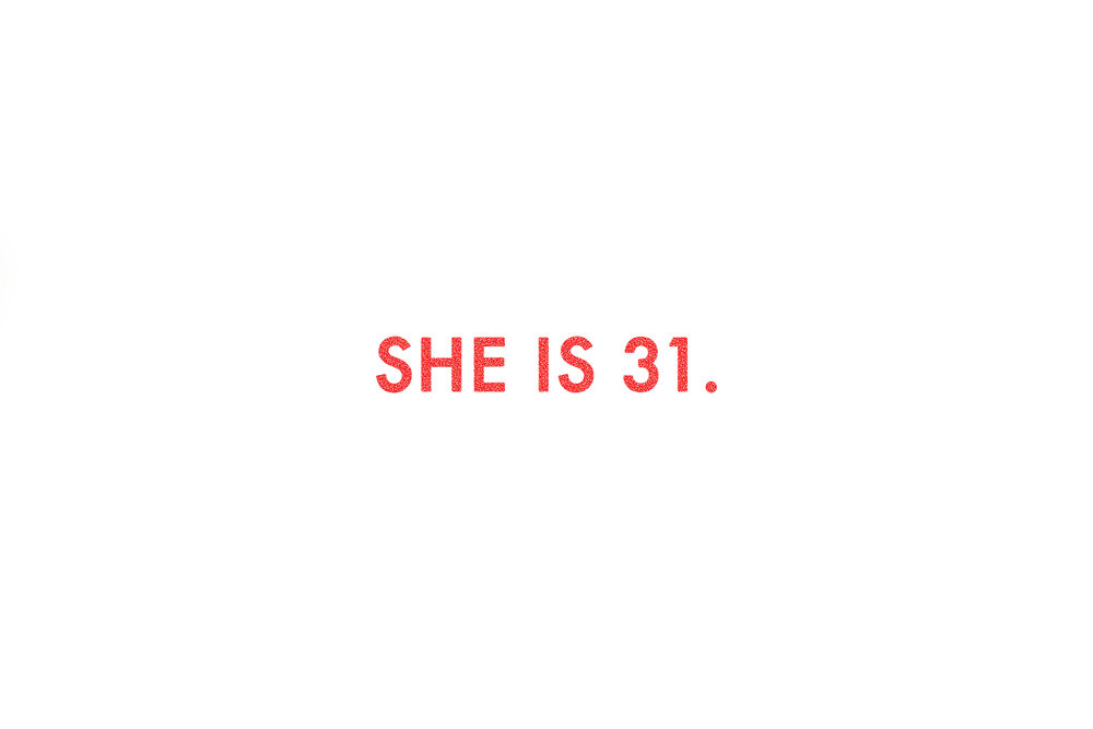 She is 30 RED.jpg