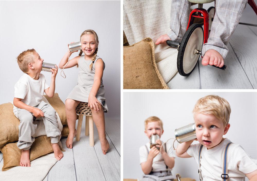 Kindergartensetup - Dosentelfon - Kindergartenfotografie