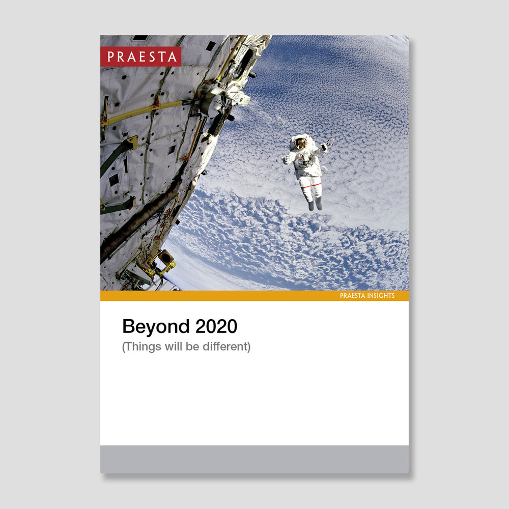 Beyond 2020   (Things will be different)   How should organisations reposition themselves for 2020 and beyond? What should leaders be doing now to prepare for that? Big questions. Our view is that today's answers are very different to yesterday's.   Download PDF