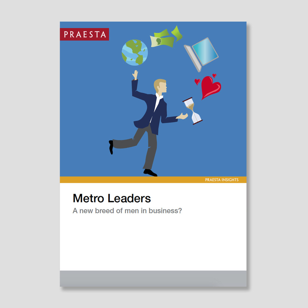Metro Leaders: A New Breed of Men in Business?   Saul Klein, the technology venture capitalist behind a host of successful startups describes himself on Twitter as 'Husband. Dad. Serial entrepreneur.' He is a high profile example of a new breed of men in business life who are choosing to behave differently in the workplace than older generations...   Download PDF