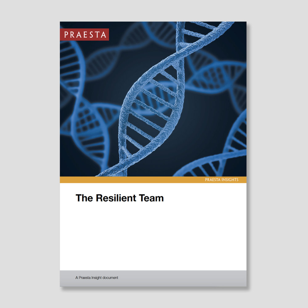 The Resilient Team In this Insight document we share observations from working with executive and senior teams over many years and through changing contexts. We set out ten characteristics we notice in teams that stay resilient.  Download PDF