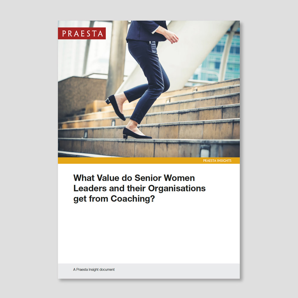 What Value do Senior Women Leaders and their Organisations get from Coaching?   It is important to ask what value senior women and their organisations can gain from coaching. Research has shown that coaching has had a significantly positive impact on women who take on senior roles.   Download PDF